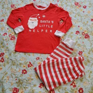 Santa's Little Helper Christmas Pajamas  7